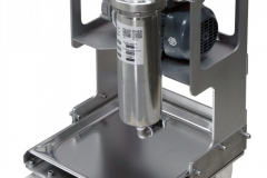 1FU-inline-cartridge-housing-with-pump-and-mobile-trolley-with-drip-tray-scaled