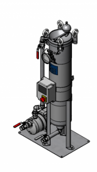 Side stream filtration unit for sidestream filtration applications.