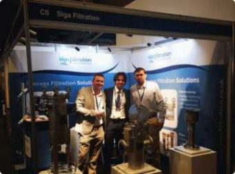 Siga Filtration feature at CHEM UK 2019 exhibition.