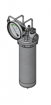 Gauge DP t is a reliable way to measure filter life.