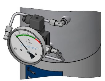 Bag filter DP measurement provide a reliable indication of blocked filters.