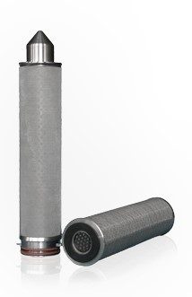Stainless steel mesh filter cartridge for the filtration of water & chemicals.